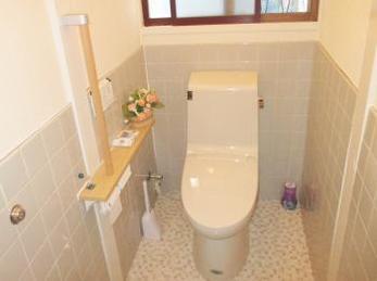 和式から綺麗な洋式のトイレになり、とても満足しています。