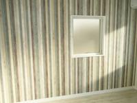 くすんでいた天井、壁、床がリフォームされて、真新しい印象のお部屋にリフォームされました。